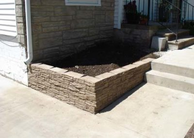 Cedar Rapids Landscaping and walls